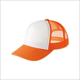 オレンジ×ホワイト