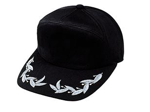 ブラック(シルバー刺繍)