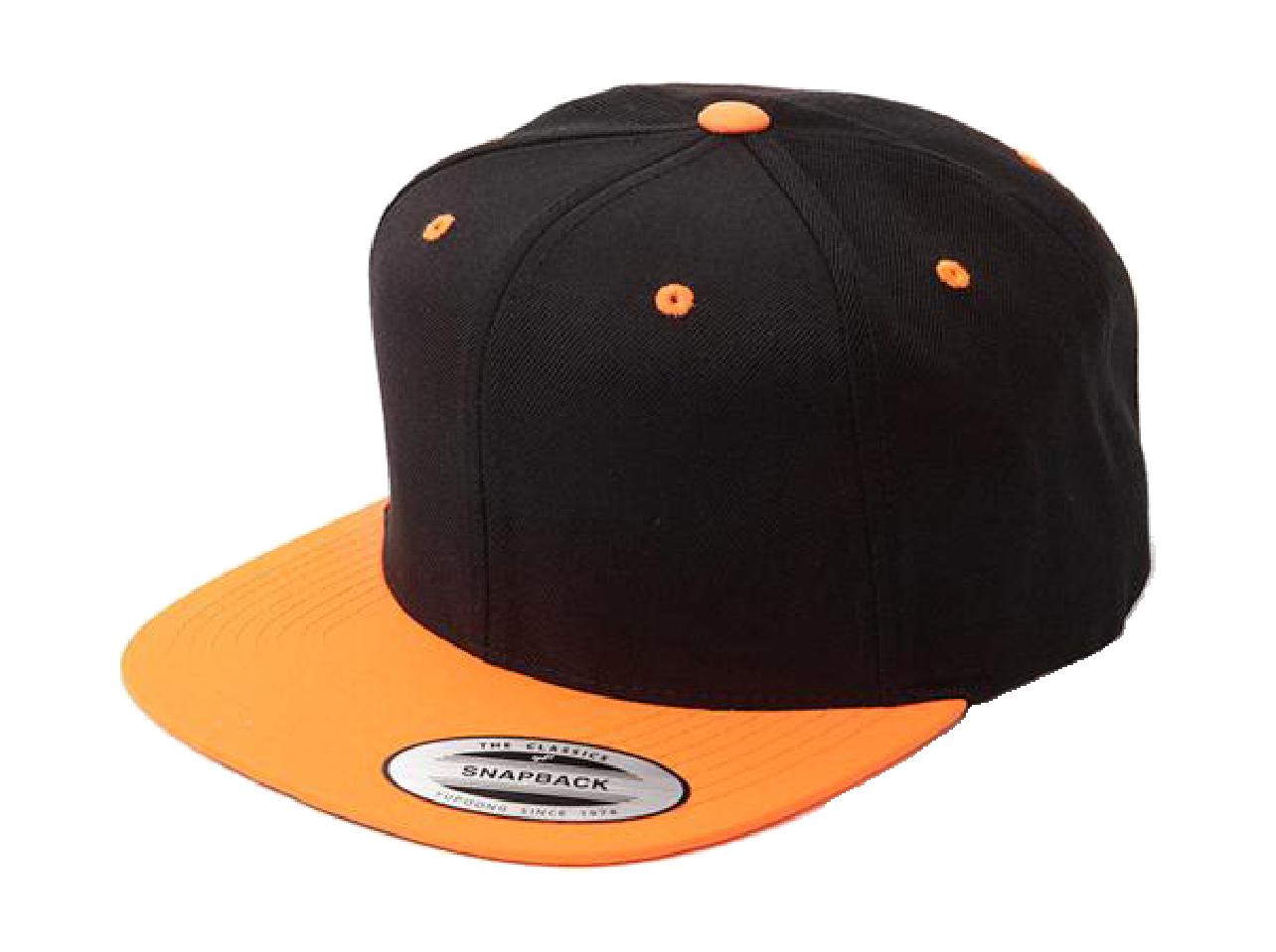 ブラック/ネオンオレンジ