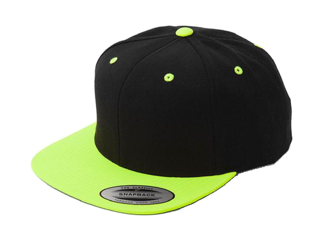 ブラック/ネオングリーン
